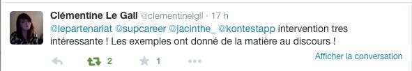 clementine tweet